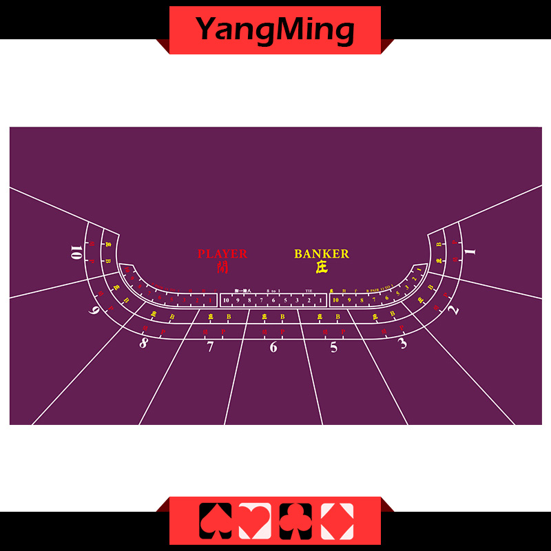 Casino table layout -9P(BL01P1)