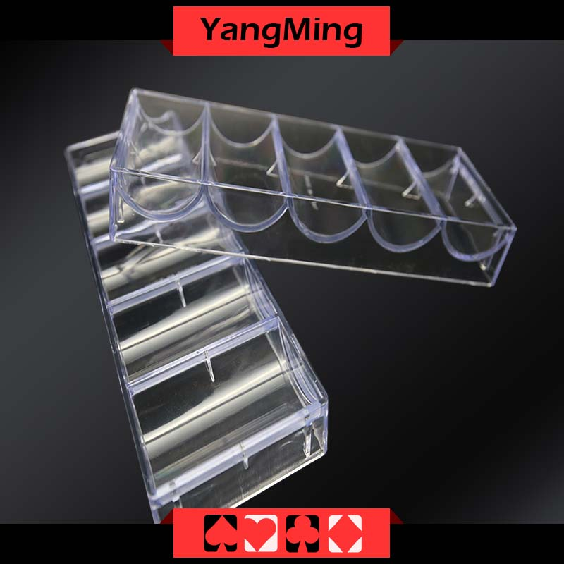 Transparent acrylic chips case(CT07)