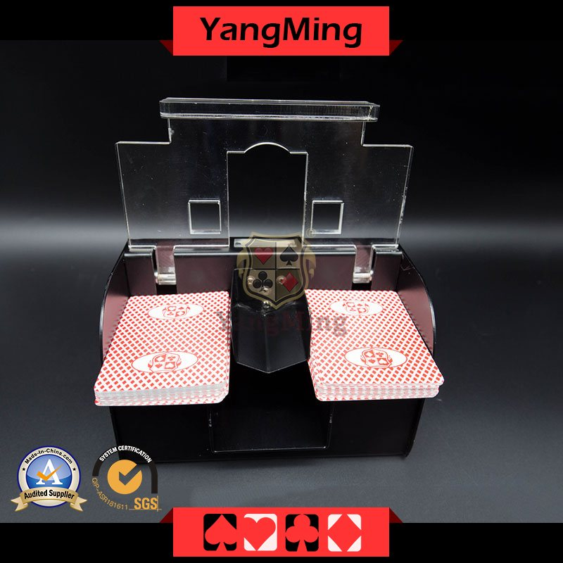 2017 Fully Automatic Plastic 1-2 Deck Card Shuffler(CS07)