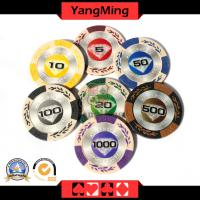 European clay chips casino poker chips (CY01)