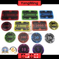 Crown screen Chip casino poker chips (CP026/027)