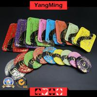 Anti-counterfeiting crystal chip casino poker chips(CP022/023)