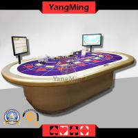 Casino RFID Grade 10 person Electronic Poker Table (FIDTB01)